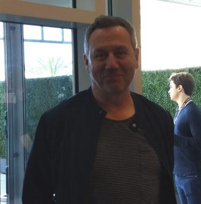 Jonathan Lloyd Walker Van Helsing Press Room SDCC 2019