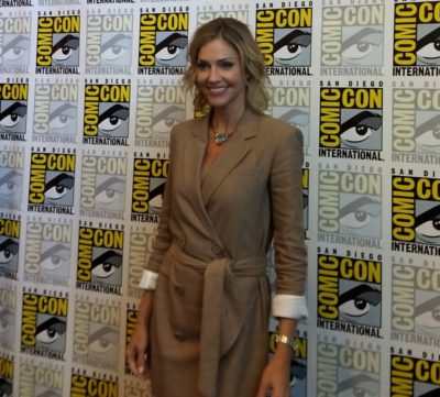 Tricia Helfer Van Helsing Press Room SDCC 2019