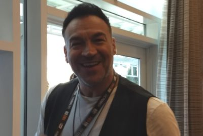 Aleks Paunovic SDCC 2019 Van Helsing Press Room