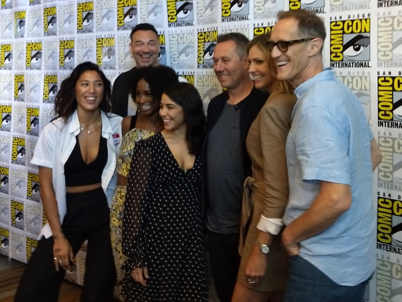 Van Helsing Press Room SDCC 2019