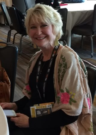 SDCC 2019 Dee Wallace at Critters Attack Press