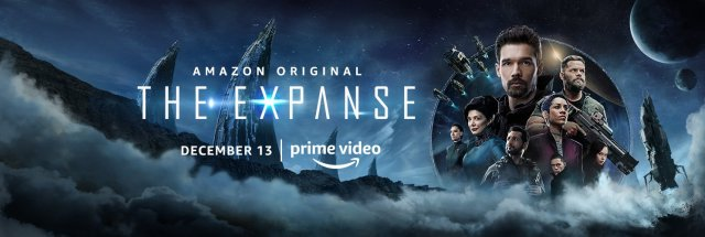 The Expanse on Prime Banner 2019