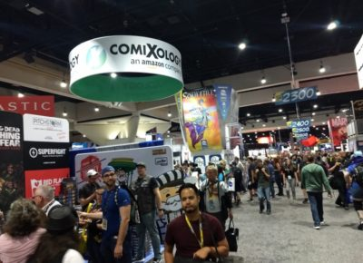 SDCC 2019 Vendors Hall on Preview Night