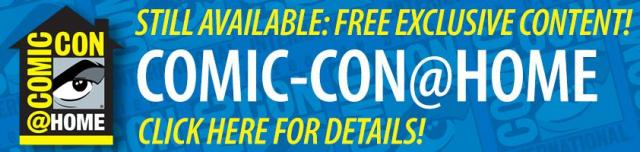 San Diego Comic-Con at Home banner 2020