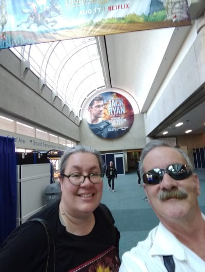 TeamWHR Lori and Kenn at SDCC