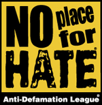 No Place for Hate - Click to learn more at the ADL!