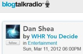 Visit and chat with Dan Shea at You Decide on Blog Talk Radio!