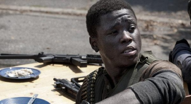 Mpho Koaho as Anthony on FallingSkies