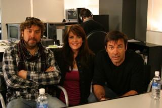 Damian Kindler, Amanda Tapping and Martin Wood of Sanctuary!