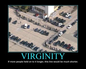 Virginity Motivational Poster