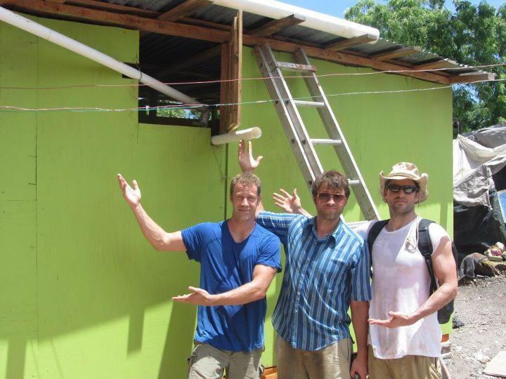 Haiti Reconstruction - Colin Ferguson works tirelessly to help the Haitains