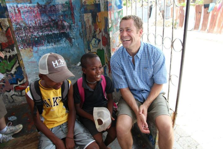 Haiti Reconstruction - Colin Ferguson brings smiles to the faces of Haitian citizens!