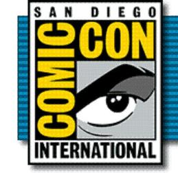 ComicCon - Logo banner blue - Click to learn more at the official web site!