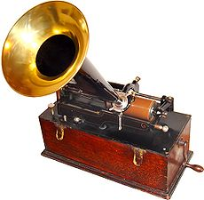 Click to learn more about the Edison Phonograph!
