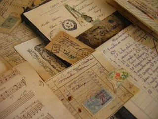 Documents of a family's history
