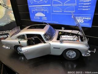 SDCC-2012-James Bond Astin Martin DB-5