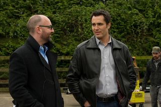 Simon Barry and Victor Webster