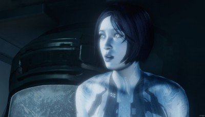 Cortana in Halo 4 Forward Unto Dawn - Click to learn more at the official Microsoft X-BOX web site!