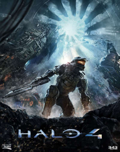 Halo 4 Forward Unto Dawn banner poster artwork - Click to learn more at the official X-BOX web site!