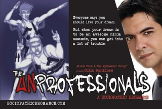 Click to learn more about The Unprofessionals, a new and exciting graphic novel!