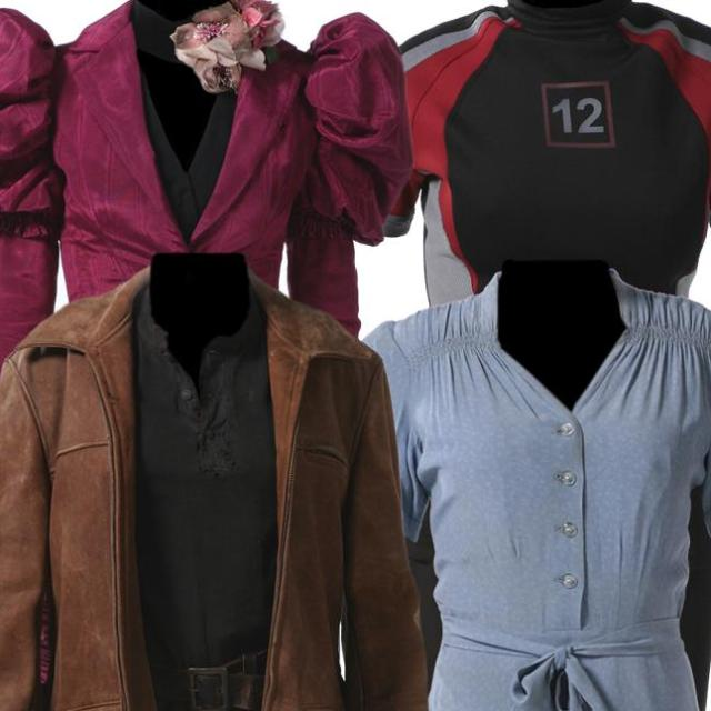 Click to learn more about the Hunger Games costume auction at Haxbee Inc!