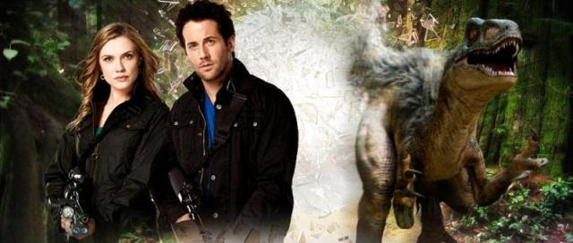 Primeval New World web site Sara Canning and Niall Matter Dino Banner - Click to learn more at the official web site!