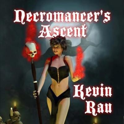 Kevin Rau's Necromancer book cover art