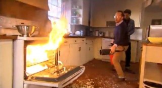 Never Ever Do This At Home Fire