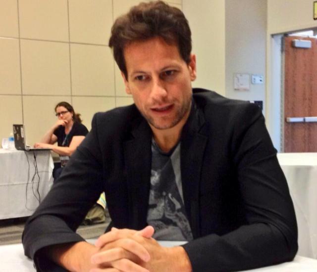 Origins 2013 -  Ioan Gruffudd being interviewed by FidgetTBC (Karina)