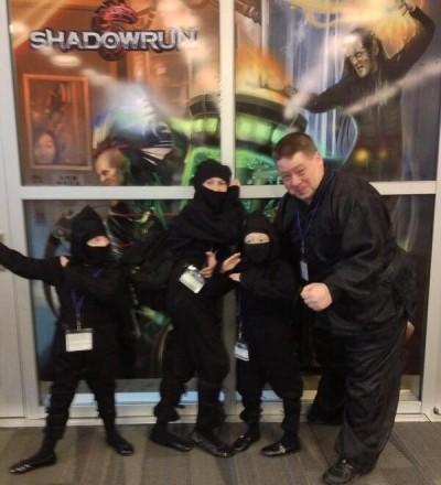 Origins 2013 - Ninja Cosplay