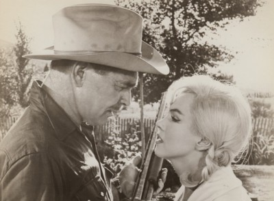 The Misfits - Clark Gable and Marilyn Monroe - Image courtesy Blacksparrow Auctions