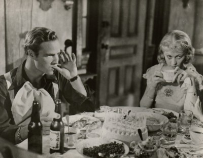 The Hollywood Collection - Marlon Brano and Vivian Leigh in A Streetcar Named Desire