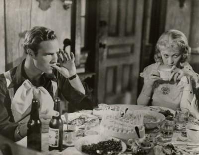 The Hollywood Collection - Marlon Brano and Vivian Leigh in A Streetcar Named Desire