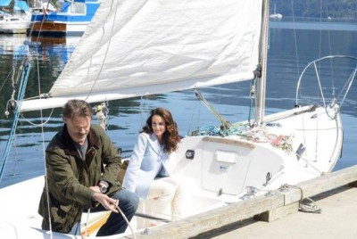 Cedar Cove - Jack and Olivia go sailing on a Sunday afternoon
