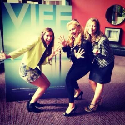 Leap 4 Your Life - L-R Taylor Hill - April Telek - Barbara Hill at VIFF