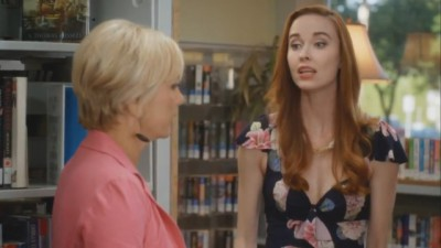 Cedar Cove S1x09 - Elyse Levesque as Mary Ellen Sherman with Grace Sherman portrayed by Teryl Rothery
