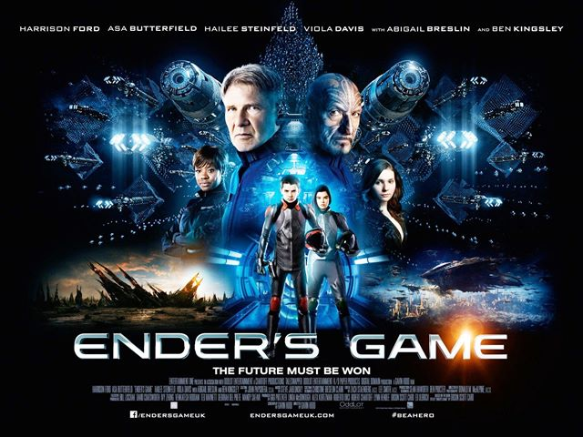 YD Andrea Powell Ender's Game Poster