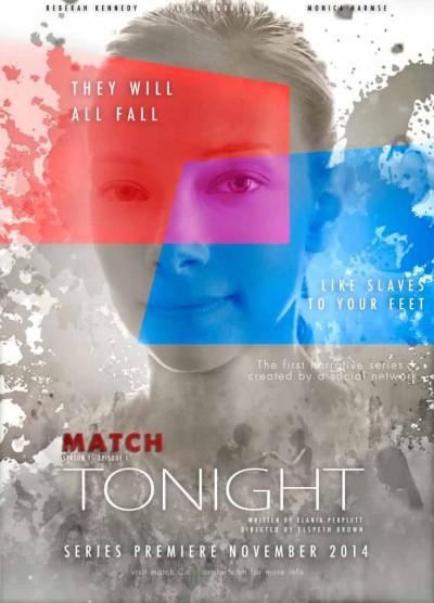 Match Series - Rebekah Kennedy, episode five Tonight-Poster