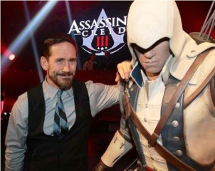 Neil at the Assassin's Creed III Launch