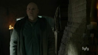 Helix S2x05 Brother Landry shunned by Sister Amy
