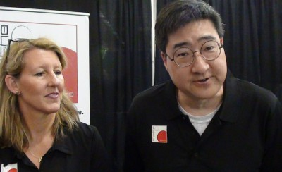SVCC 2016 Creators of Veiled Alliances Kimberly Unger and Douglas Sun