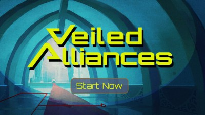 Veiled Alliances start screen - Click to learn more at the official web site!